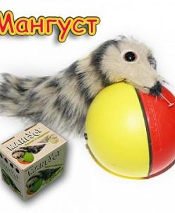 Игрушка мангуст бегающий за шариком