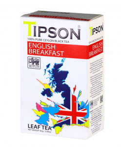 Чай Tipson Английский завтрак/English breakfast 85г., картон