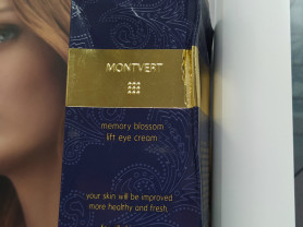 Montvert memory blossom lift eye cream