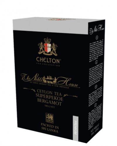 Чай Челтон «Благородный Дом» с маслом бергамота 200гр картон