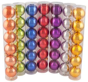 """Набор шаров """" Новогодний"""", диаметр 65 мм, глянцевый"""