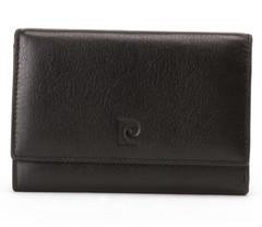 Мужской кошелек (портмоне) Pierre Cardin кожа черн