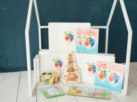 Развивающий центр LandyBox для детей 1-2 лет