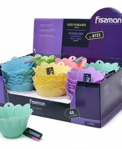 8723 FISSMAN Формочка для варки яйца-пашот 10x6,5 см (силико