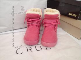 """Розовые трипсы """"China"""" ботинки зимние, новые"""