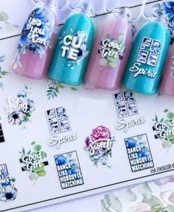 Fashion Nails, Слайдер-дизайн 3D/76