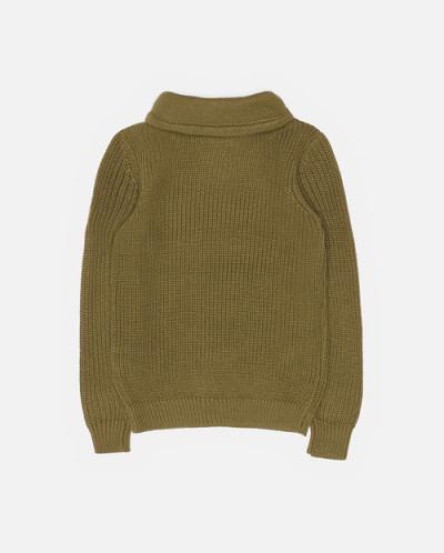 45986 Свитер темно-зеленый