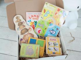 Набор развивающих игр LandyBox для детей 2,5-3 лет
