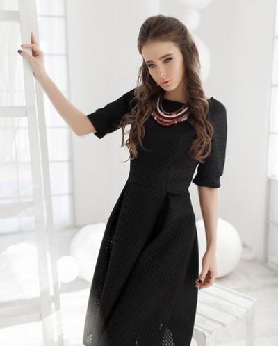 Платье из неопрена №0430
