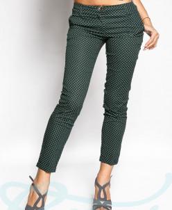 Трендовые укороченные брюки Gepur