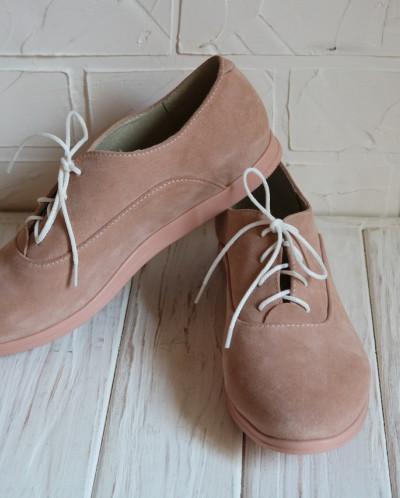 Замшевые стильные туфли. New Collection 18
