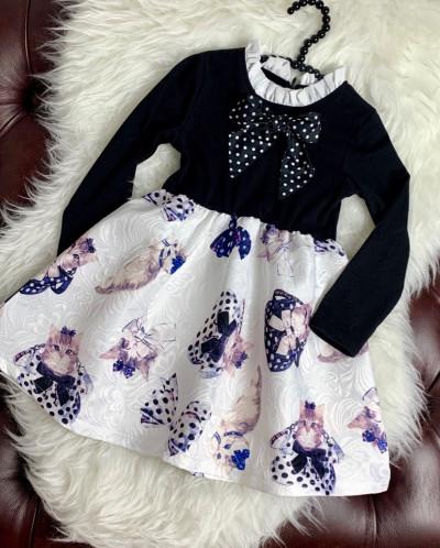 Платье для ваших модниц от Monna Lisa