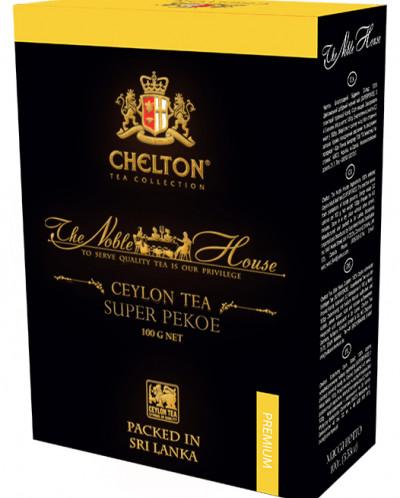 Чай Chelton «Благородный Дом» (SUPER РЕКОЕ) 100 гр картон