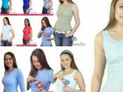 Майки футболки для кормящих мам
