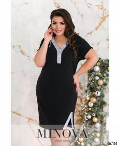 Платье №144Б-Черный