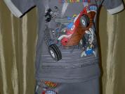 КОМПЛЕКТЫ (футболка+шорты) новые р.116