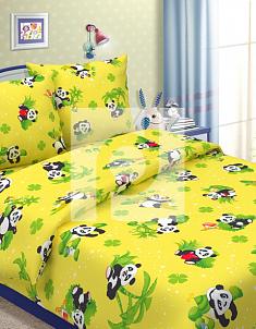 Бязь Панды 1,5 спальный