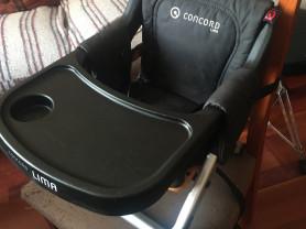 Портативный складной стульчик для кормления concord Lima