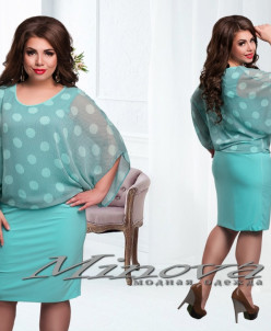 Артикул:Платье №207-ментол