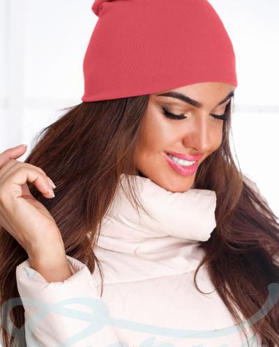 Женская шапка бини