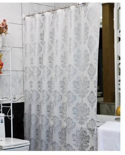 YANKI WHITE Штора для ванной 180*200, PEVA