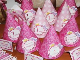 Набор для дня рождения маленькая принцесса
