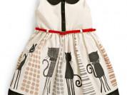 Платье с кошечками (новое)
