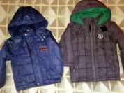 Куртки Осень-весна одеты пару раз р. 110 состояние