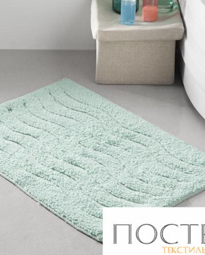 """5107 Коврик для ванной """"MODALIN"""" AREN 40x60 см 1/1 Зеленый"""