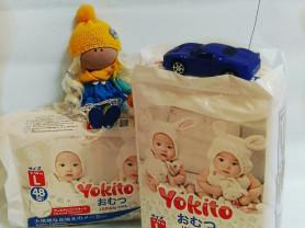 Подгузники-трусики японского качества Yokito