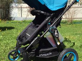 Новая коляска-трансформер Pouch