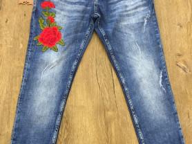 Крутые джинсы - бои с вышивкой