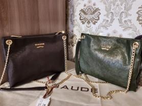 Новая сумка клатч кожа Италия в 2-х расцветках
