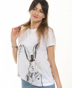 DFT6645 футболка женская