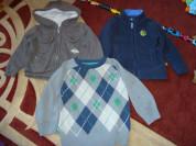 Одежда для сыночка ( парка, кофты)