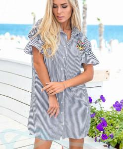 Очаровательное платье рубашка