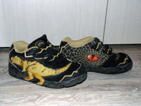 Кроссовки dinosoles t-rex замша р.33