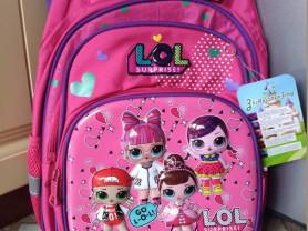 рюкзаки с куклой лол