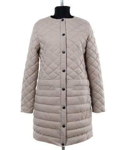 04-1884 Куртка демисезонная (Синтепух 150) Плащевка Бежевый