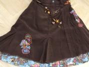 юбка вельветовая Pampolina