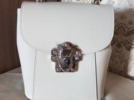 Новый кожаный рюкзак Pelloro Италия