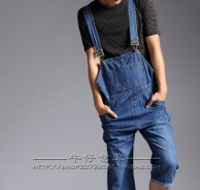 джинсы-капри-комбинезон мужские