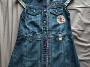 Next джинсовое платье р 3-4 г