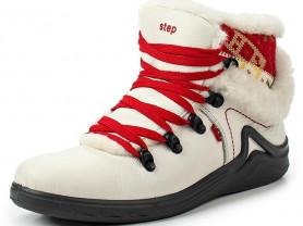 Ботинки спортивные натуральная кожа и мех S-tep 36