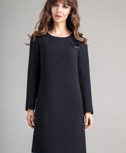 Р1165 платье   Цвет: темно-синий
