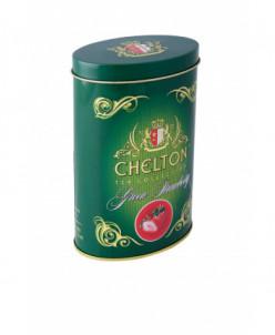 Чай Челтон зеленый чай с клубникой 100гр ж.б