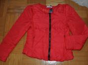 Новая красная куртка
