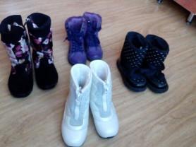 Обувь на весну-осень-зиму, 25-27размеры.