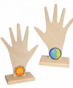Рука-подставка для пальчиковых игрушек,ТМ  Вальда
