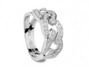 Серебряное кольцо ISTA (новое)